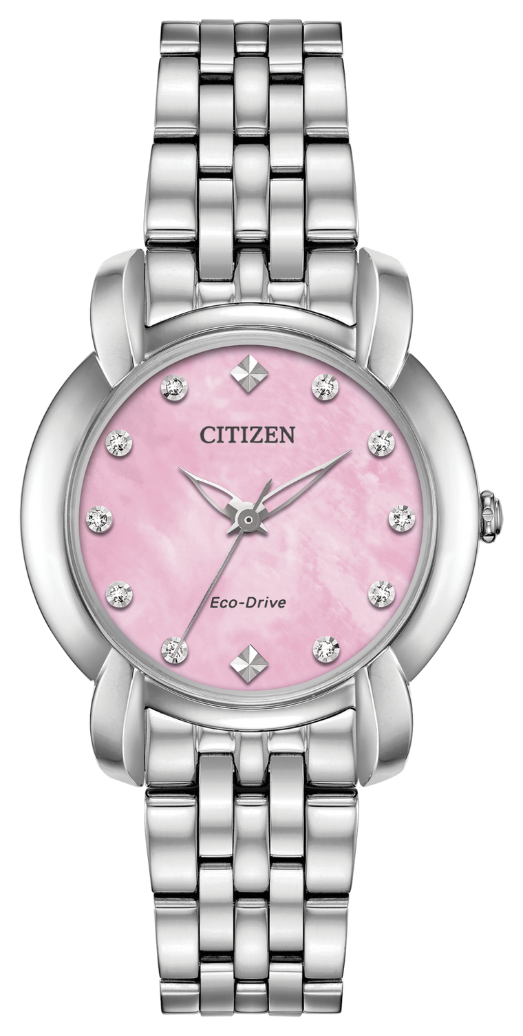 Citizen Jolie 30mm Ladies Watch with Pink Mother of Pearl Dial