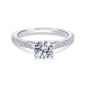 Gabriel & Co 'Avery' Diamond Engagement Ring