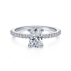 Gabriel & Co Diamond Semi-Mount Engagement Ring