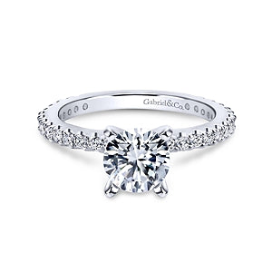 Gabriel & Co 'Logan' Diamond Engagement Ring