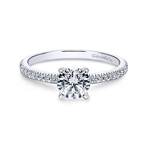 Gabriel & Co 'Oyin' Diamond Engagement Ring