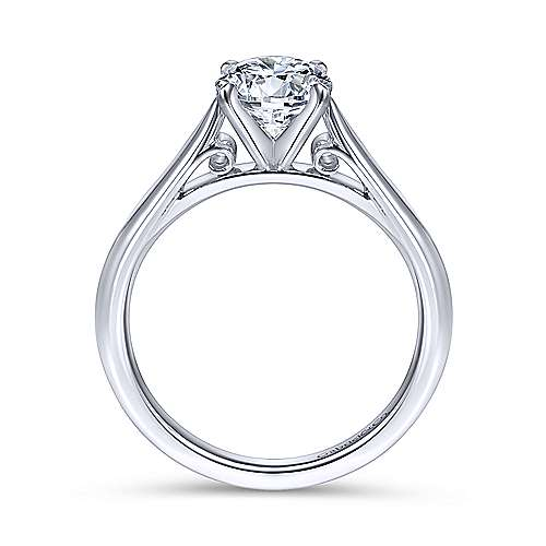 Gabriel & Co 'Leah' Solitaire Engagement RIng