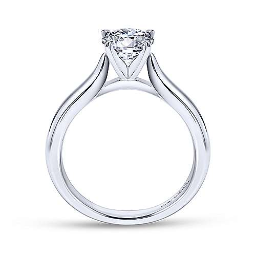 Gabriel & Co 'Lauren' Solitaire Engagement Ring