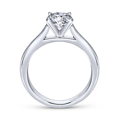 Gabriel & Co 'Michelle' Solitaire Engagement Ring