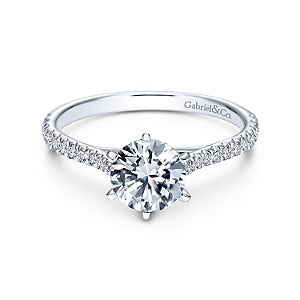 Gabriel & Co 'Casey' Diamond Engagement Ring
