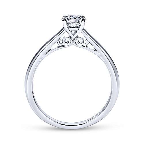 Gabriel & Co 'Valerie' Solitaire Engagement Ring