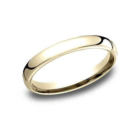 Benchmark 3.5mm Comfort Fit Wedding Band