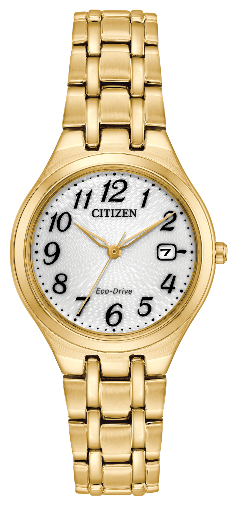 Citizen Corso 28mm Watch with White Dial