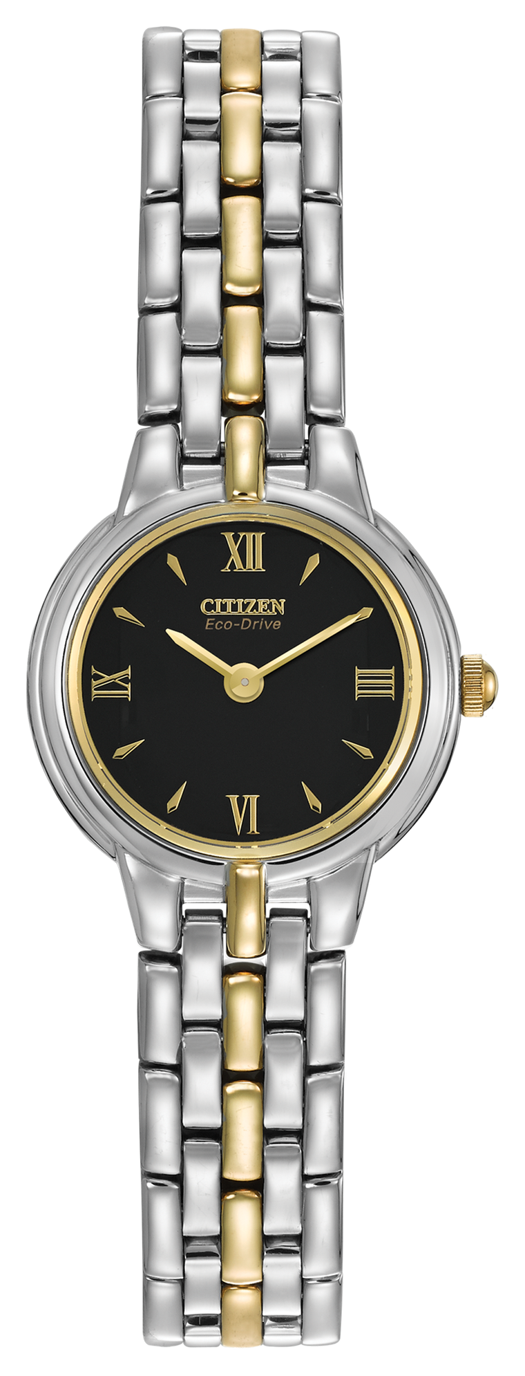 Citizen Corso 21mm Ladies Watch with Black Dial