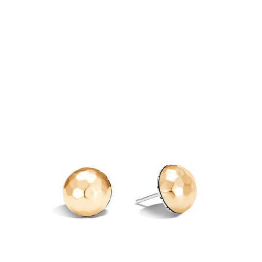 John Hardy Classic Chain Hammered Stud Earrings