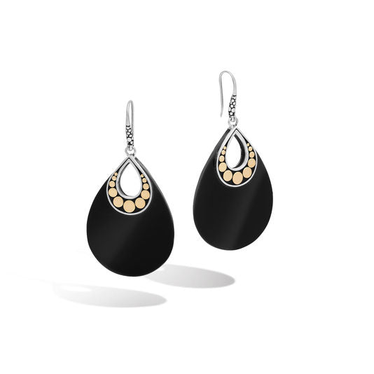 John Hardy Drop Earring with Black Onyx