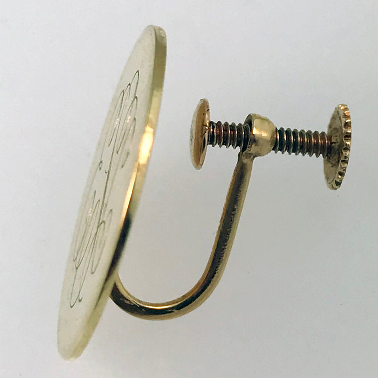 Replace Earring Post with Screw Back