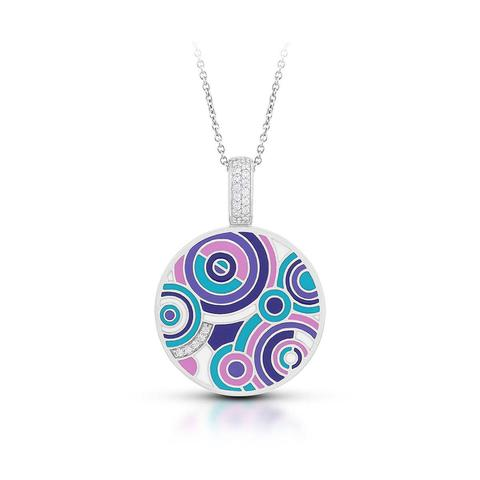 Belle Etoile 'Emanation' Pendant in Purple
