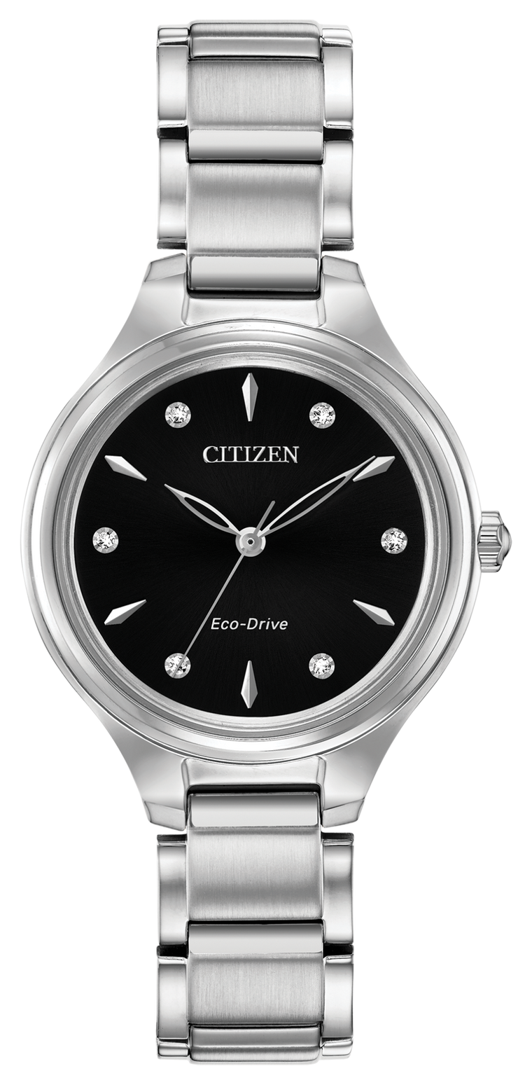 Citizen Corso 29mm Ladies Watch with Black Dial