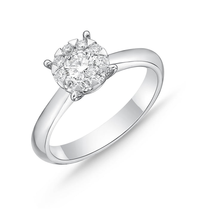 Memoire Bouquet Engagement Ring