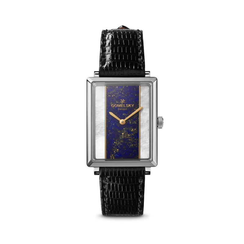 The Gomelsky 'Shirley Fromer' Lapis and Mother of Pearl Watch