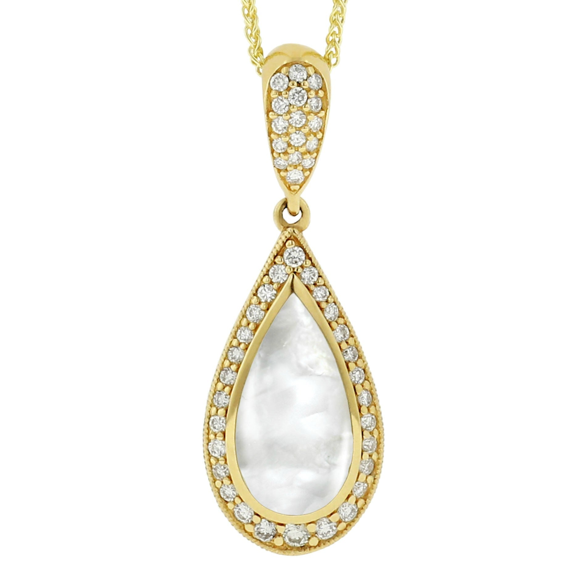 winterson with akoya and pearl in pendant gold yellow diamond