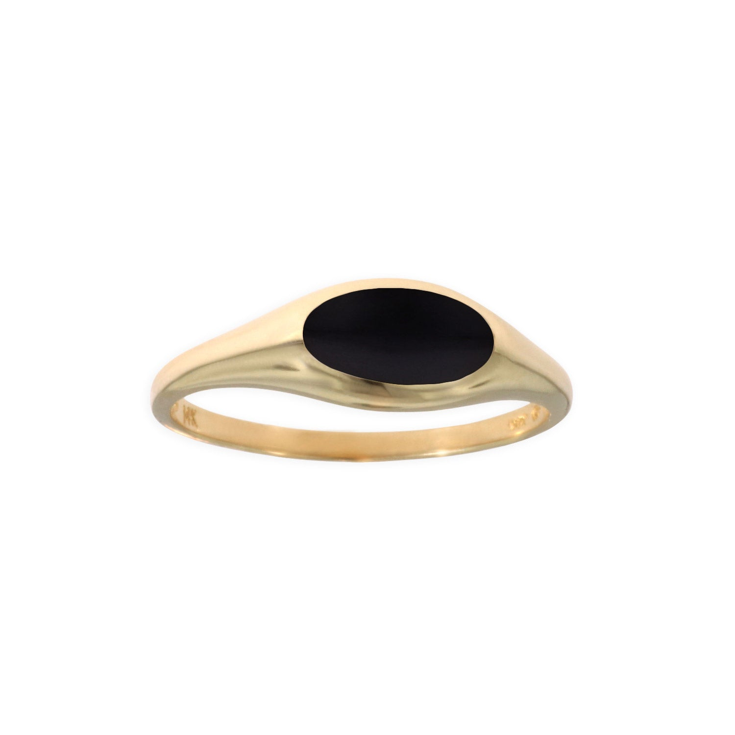 Kabana Oval Onyx Ring
