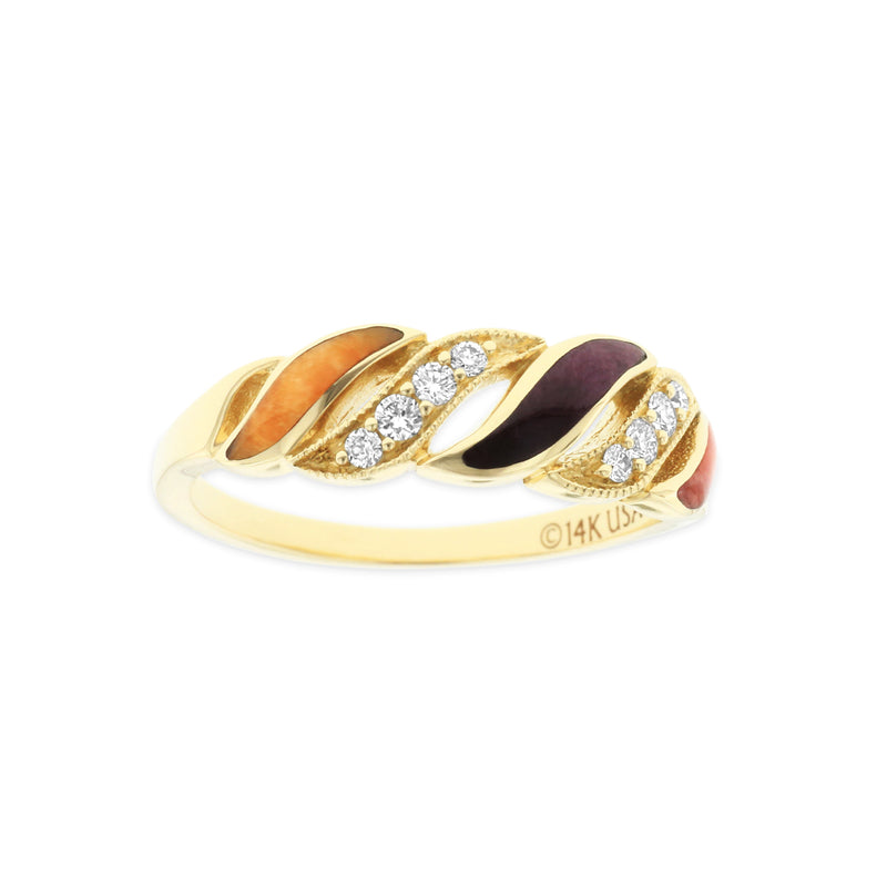 Kabana Riviera Five Wave Ring