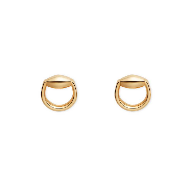 Gucci Horse Bit Stud Earrings