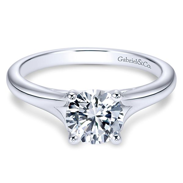 Gabriel & Co 'Gillian' Solitaire Engagement Ring