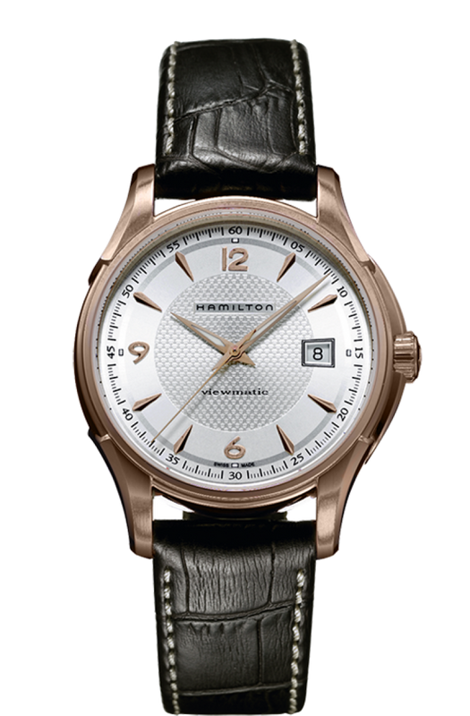 Hamilton Jazzmaster Viewmatic 40mm Watch with Silver Dial