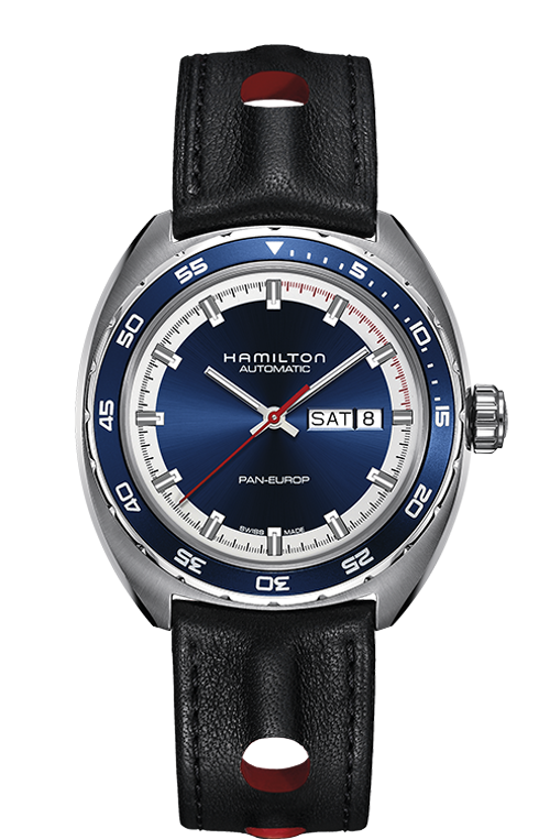 Hamilton Pan Europ Day-Date Automatic 42mm Watch