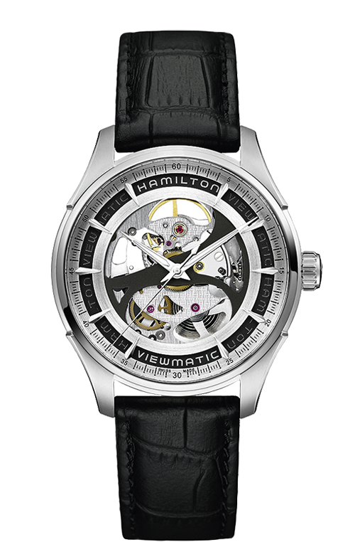 Hamilton Jazzmaster Viewmatic Skeleton Watch