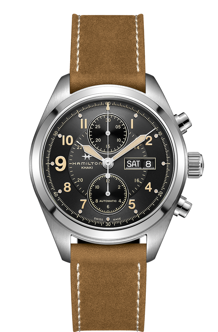 Hamilton Khaki Field Auto Chrono Watch