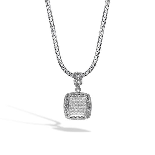 John Hardy Classic Chain Enhancer (Pendant) with Diamonds