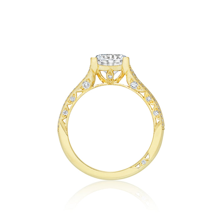 Tacori 'Classic Crescent' 6.5mm Round Engagement Ring