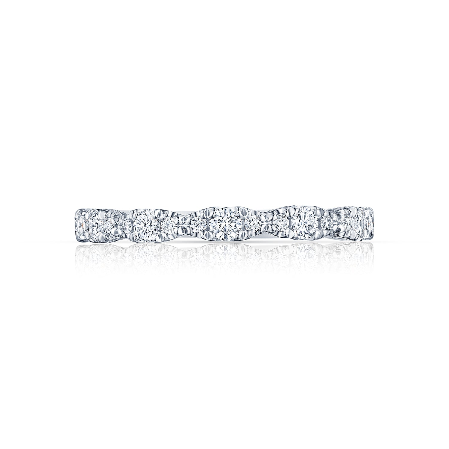 Tacori 'Petite Crescent' Wedding Band