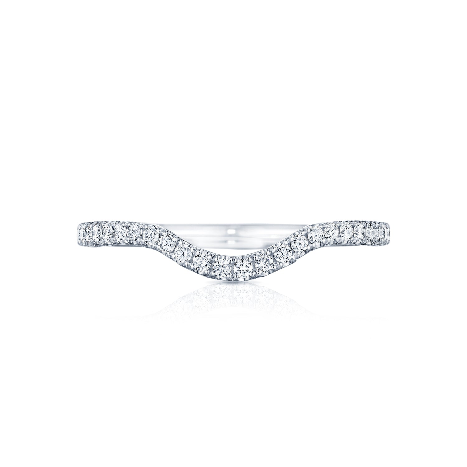 Tacori 'Petite Crescent' Contoured Wedding Band