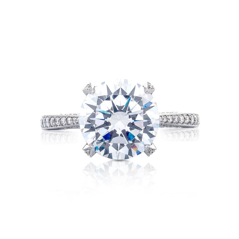 Tacori 'RoyalT' 10mm Round Engagement Ring