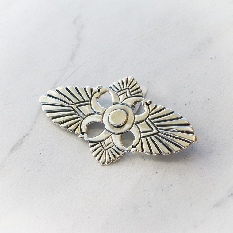 Antique Silver Pin