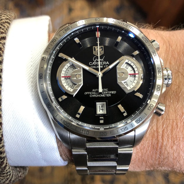 Pre-Owned TAG Heuer Grand Carrera Chronograph Watch