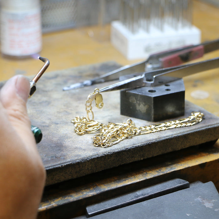 Yellow Gold Chain Solder