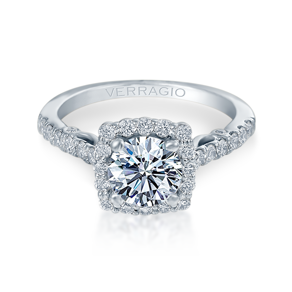 Verragio Insignia-7047 Diamond Halo Engagement Ring