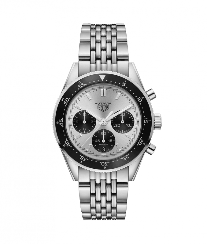 TAG Heuer 85th Anniversary Jack Heuer Heritage 42mm Watch with Silver Dial