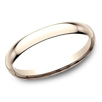 Benchmark 2mm 14K Rose Gold Wedding Band