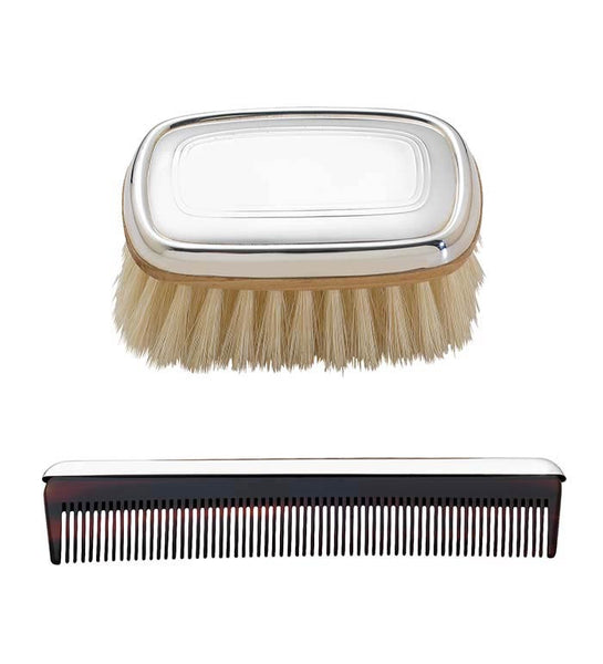 Reed & Barton Gallery Boys Brush and Comb Set