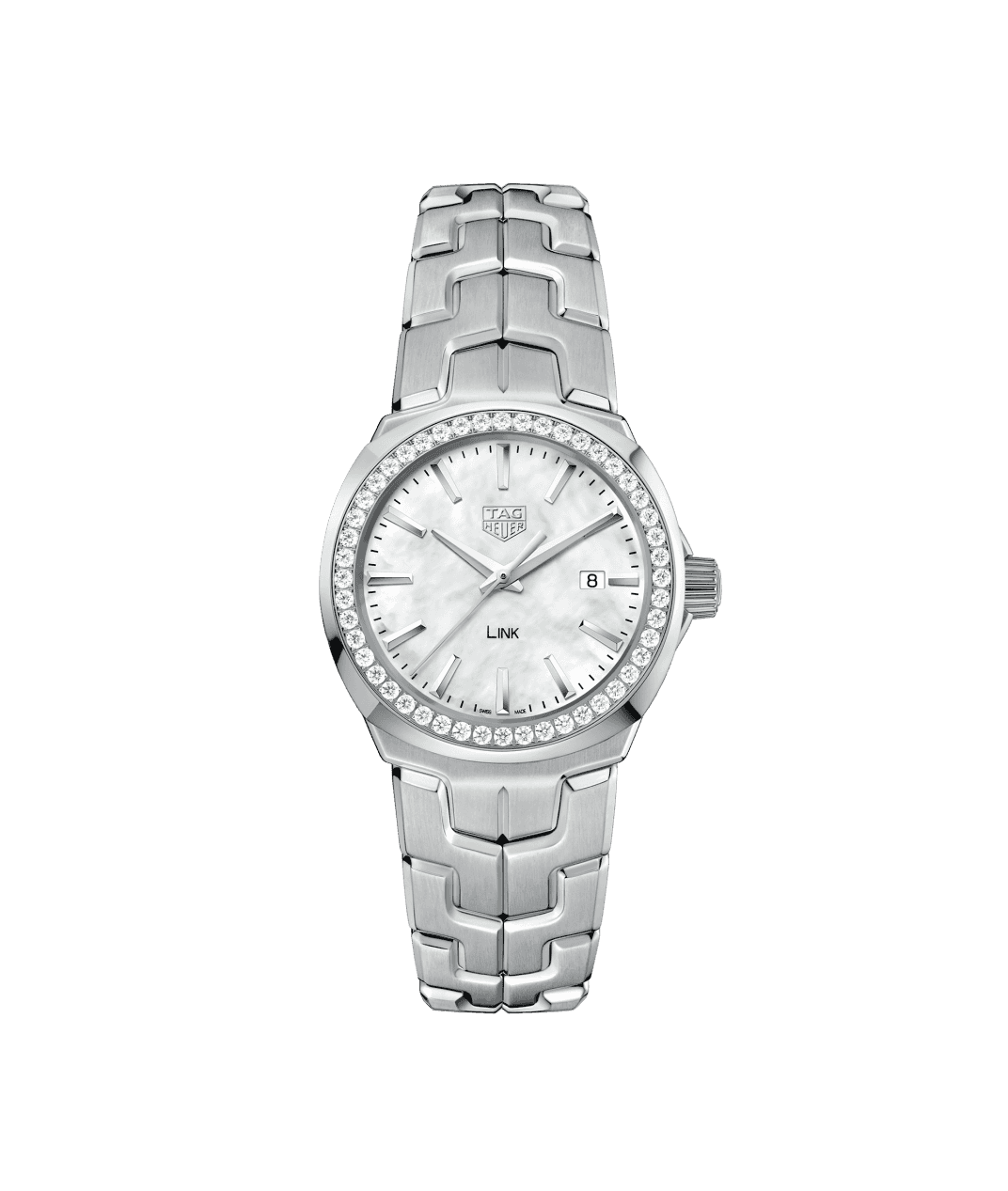 TAG Heuer Link 32mm Ladies Watch with Mother of Pearl Dial