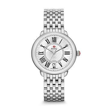 Michele Serein 16 Diamond Dial Watch