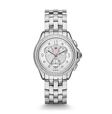 Michele Belmore Chronograph Diamond Watch