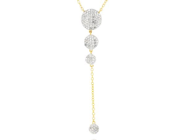 Phillips House Infinity Graduated Lariat Necklace