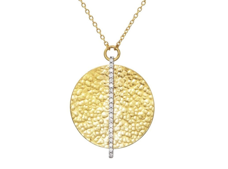 Gurhan 24K Lush Diamond Pendant Necklace