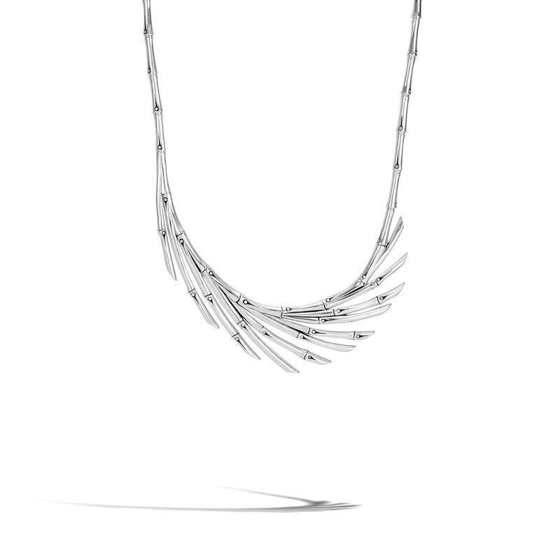 John Hardy Bamboo Fan Necklace