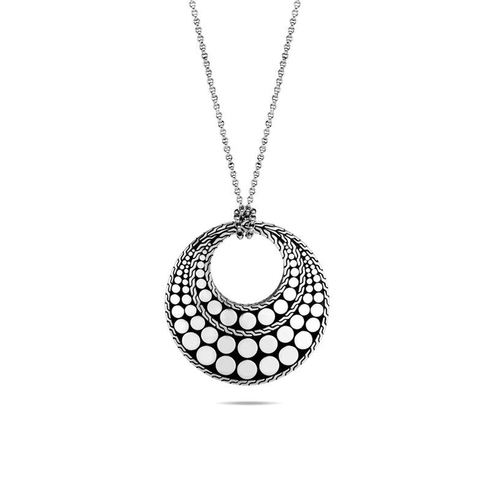 John Hardy Reversible Dot Pendant Necklace