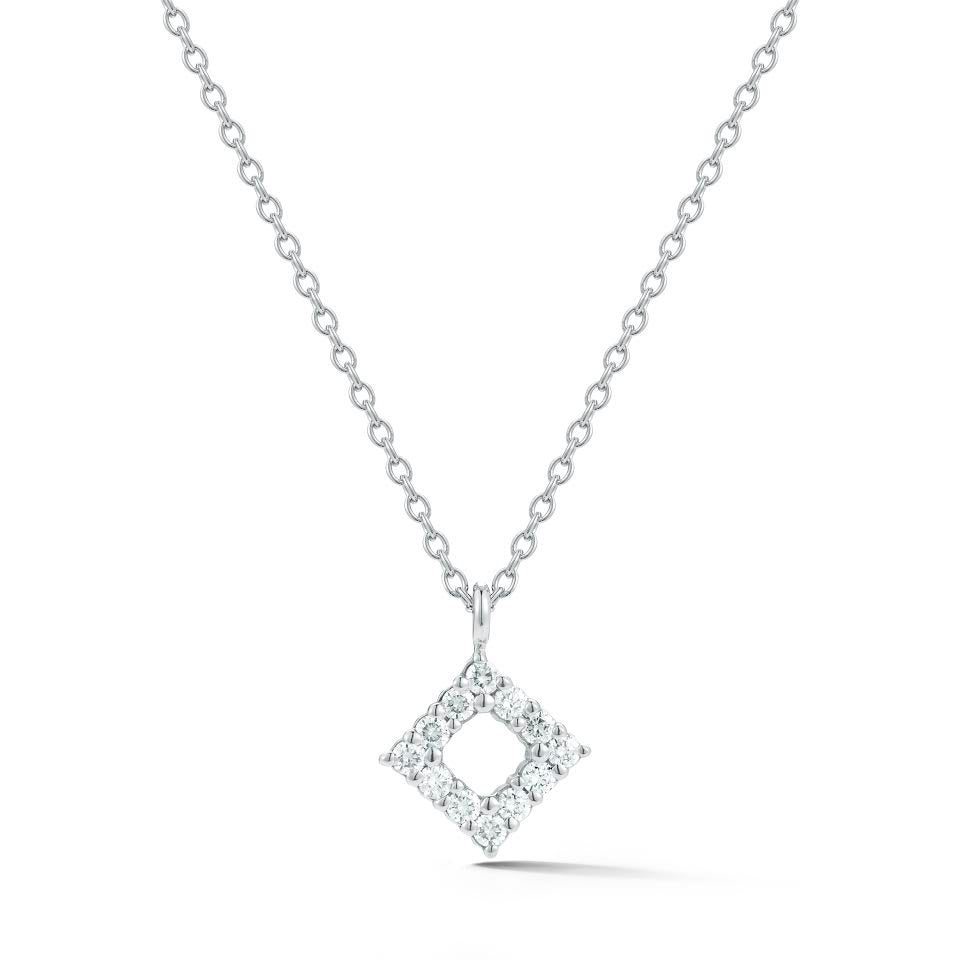 BLM Signature Diamond Shaped Pendant