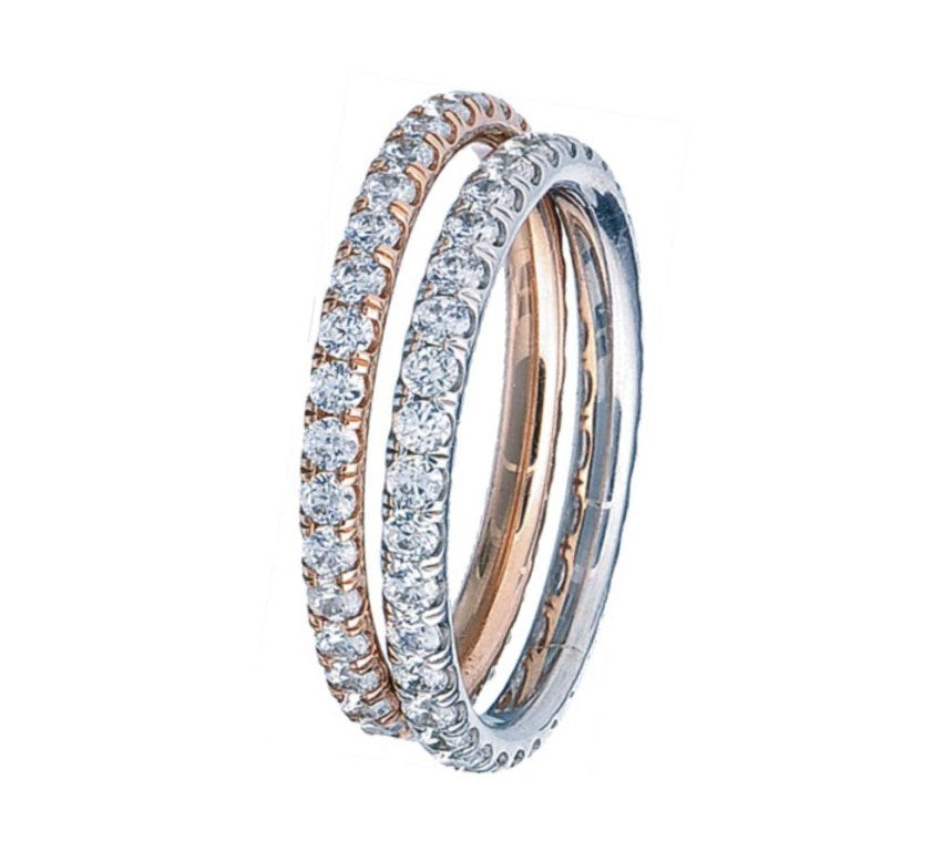 BLM Signature Eternity Band